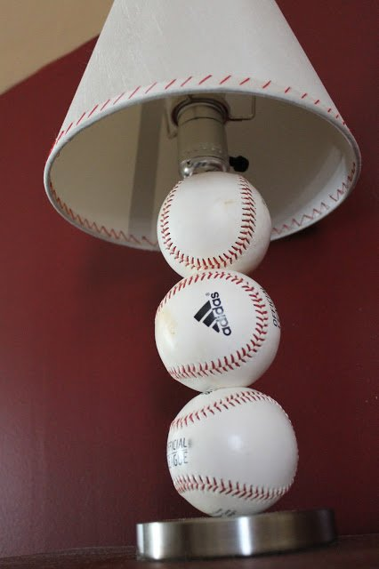 Diy Baseball Table Lamp Gentlemint