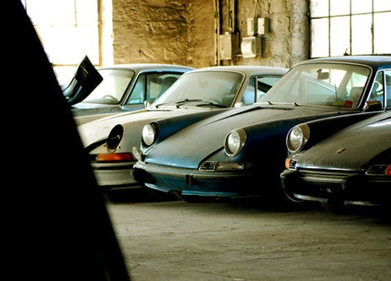Porsche cemetery