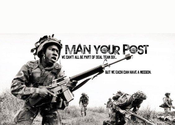 Man Your Post! | Manlihood.com