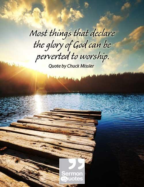 Worship the Creator