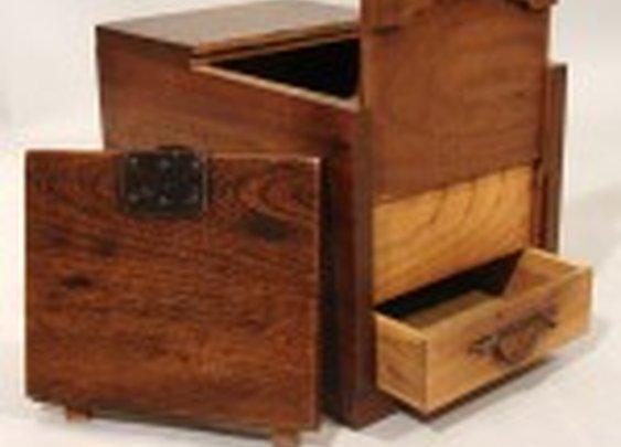 Japanese Merchant's Chest with Secret Compartment | StashVault