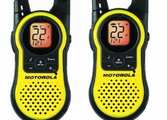 Motorola 23-Mile 22-Channel Two-Way Radio
