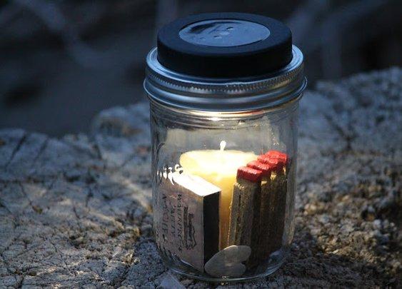 Elk Camp Solar Lanterns + Provisions