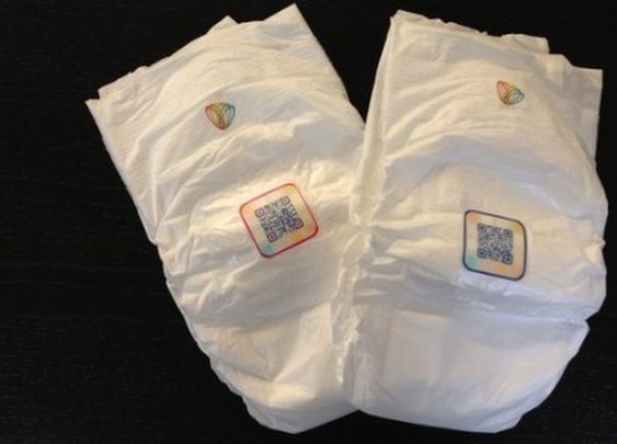 Smart Diapers test chidren's urine to monitor their health over time