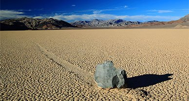 "How Do Death Valley's ""Sailing Stones"" Move Themselves Across the Desert?