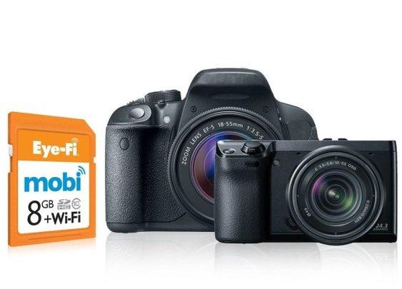 Eye-Fi MOBI Transfers Your Photos Wirelessly | Baxtton