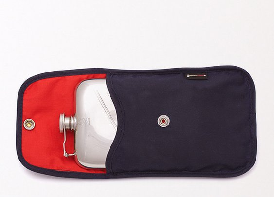 Best Made Company — 8 oz. Flask & Waxed Canvas Case