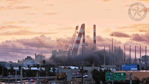 Demolishing a 1960s Era Power Plant With 450 Pounds of Dynamite