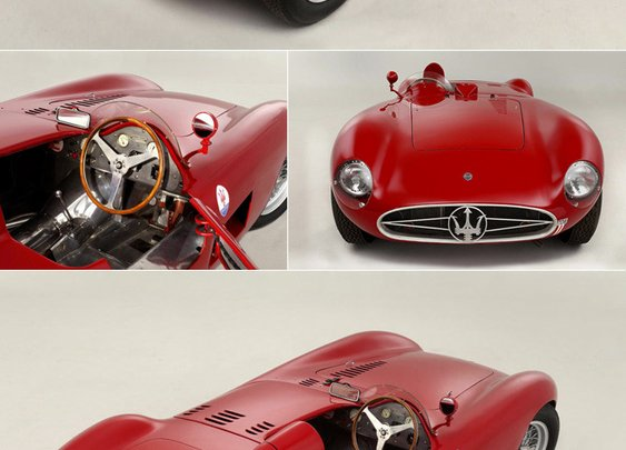 1955 Maserati 300S Sports-Racing Spider | Megadeluxe