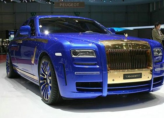 Rolls Royce Ghost blinged up by Mansory