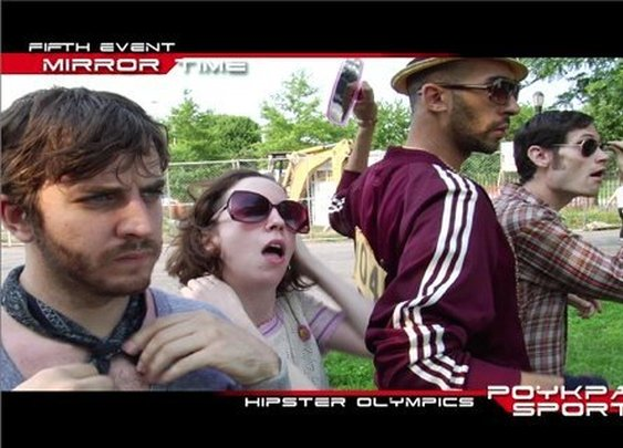 Hipster Olympics - AKA the end of times