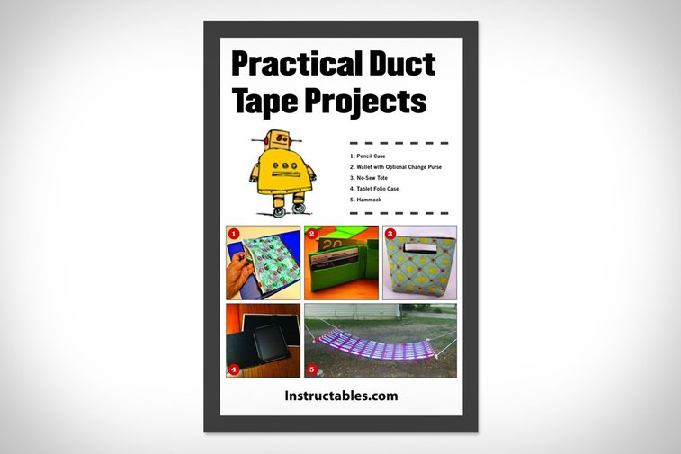Practical Duct Tape Projects   Uncrate
