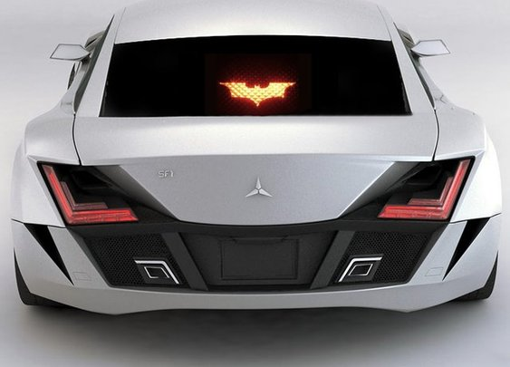 This Batman Brake Light Decal is Just $15, Installs in Minutes - Gadget Review