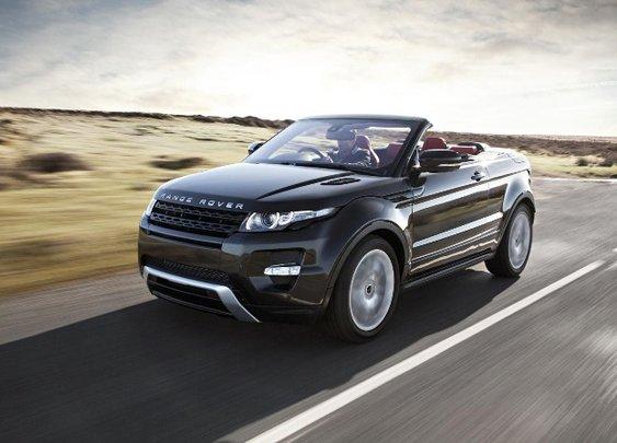 Range Rover Evoque Convertible Confirm Release in 2014 | NSTAutomotive