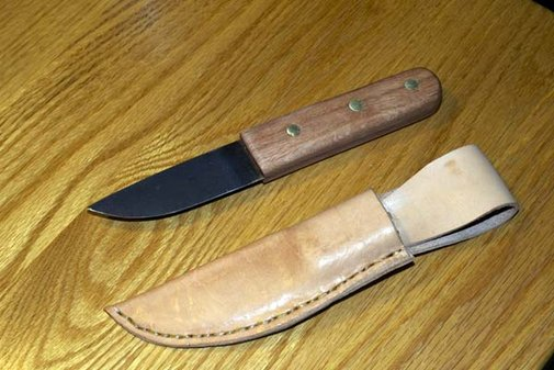 How To Make a Knife From an Old Saw Blade