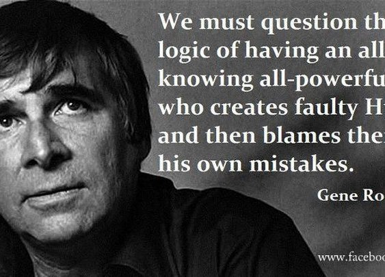 Gene Roddenberry - We Must Question...