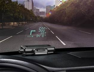 Garmin's clever 'HUD' puts directions right onto your windshield