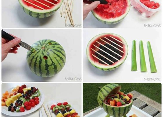 Fun Watermelon Grill Centerpiece « DIY Cozy Home