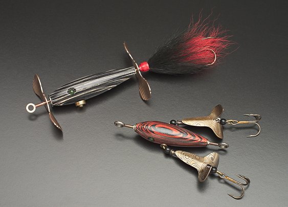 Great Looking Wood Fishing Lures