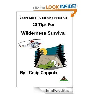 Free Kindle Book - 25 Tips for Surviving in the Wilderness