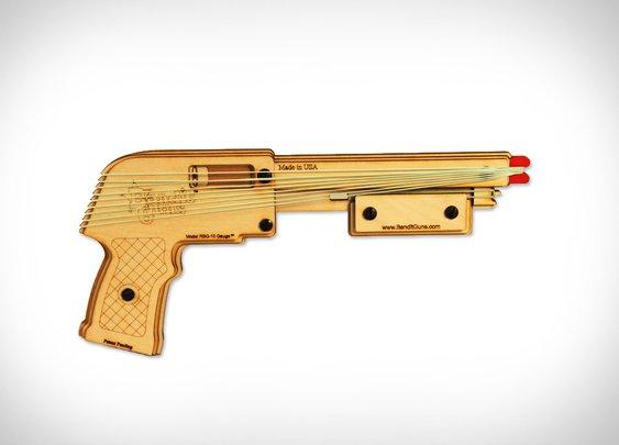 Bandit Rubberband Guns | Uncrate