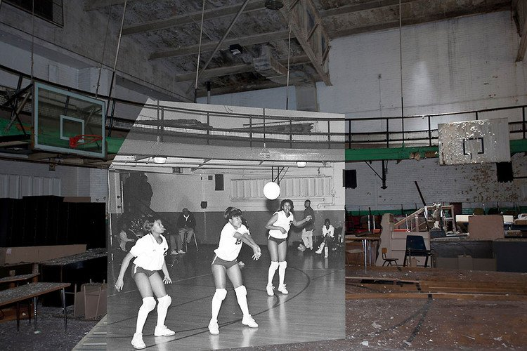 Beautifully Mashed-Up Photos Show The Glory And Wreckage Of Detroit