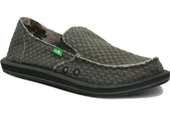BUYSTAND | Sanuk Vagabond Yogi Shoe - Men's: Charcoal, 12