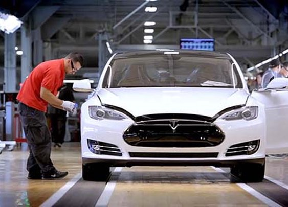 How a Tesla Model S Electric Car is Made