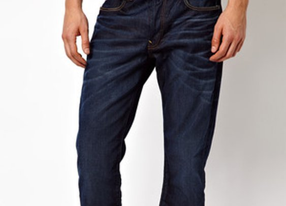 Jeans 3301 Straight Fit Fit Dark Aged