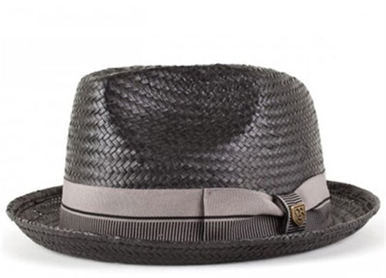 Castor Black/Taupe hat