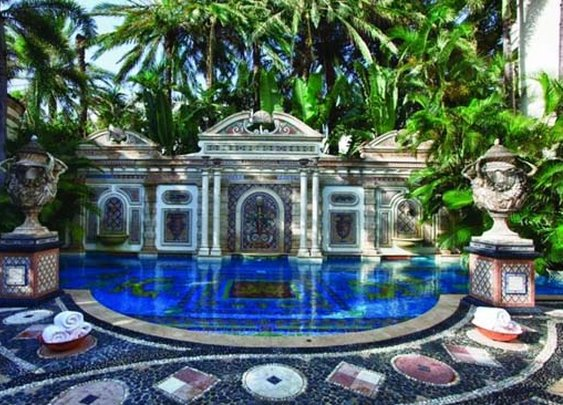 Versace villa in Miami is up for sale