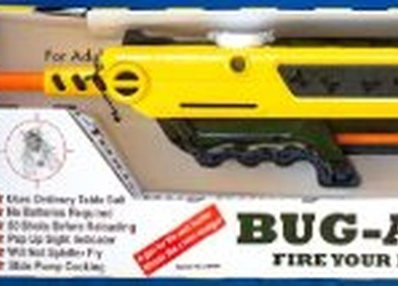 Kill Flys with a Bug-a-Salt Gun