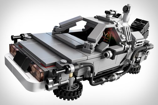 LEGO Back to the Future Time Machine | That Should Be Mine