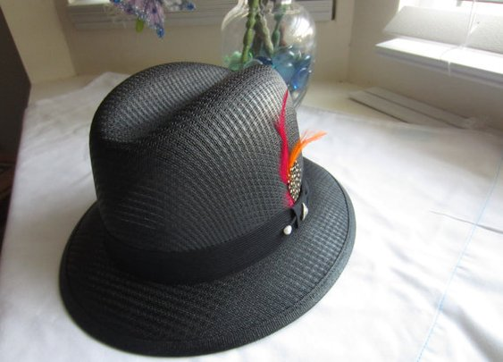 Fedora  rockabilly rat rod lowrider  hat