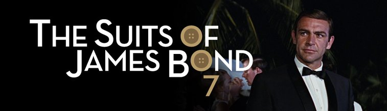 The Suits of James Bond