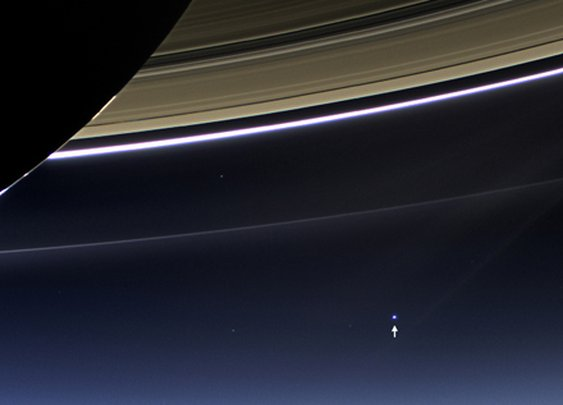 NASA Releases Images of Earth by Distant Spacecraft
