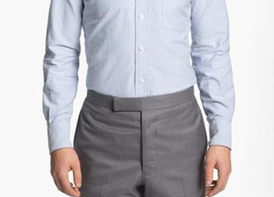 Oxford Shirt with Signature Placket