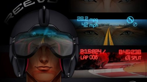 Reevu aims to be first to bring a motorcycle helmet HUD to market