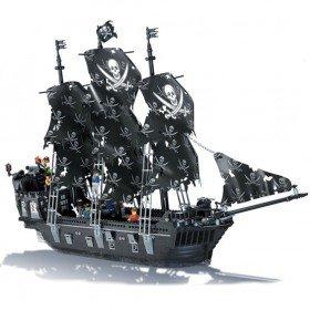 Black Pearl LEGO Compatible Pirate Ship