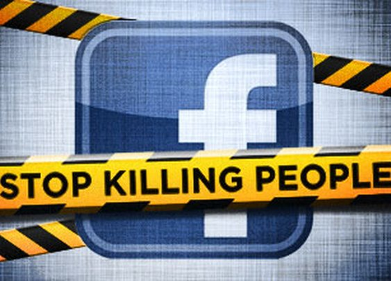 Stop Killing People on Facebook