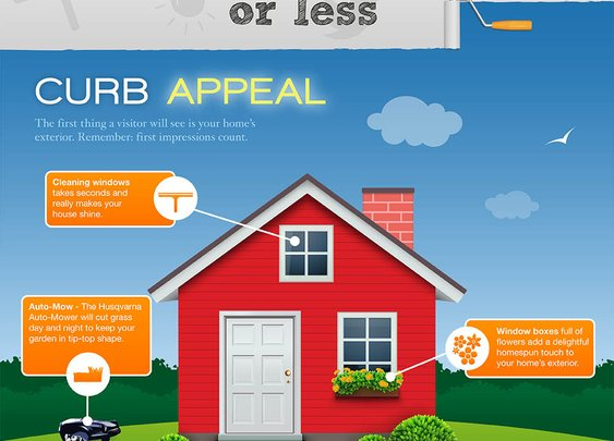 Improving Your Home in 10 Minutes or Less – Infographic | Quid Corner