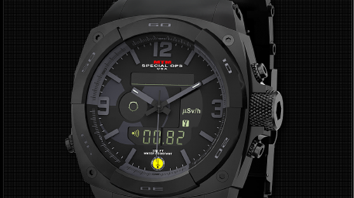 MTM's RAD watch packs a built-in Geiger counter