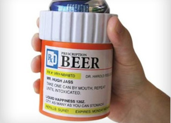 Keep your drink cool in medical style pills bottle