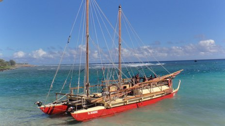BBC News - Polynesian navigators revive a skill that was nearly lost