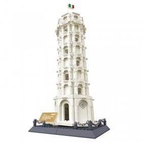 Leaning Tower of Pisa - LEGO Compatible Model