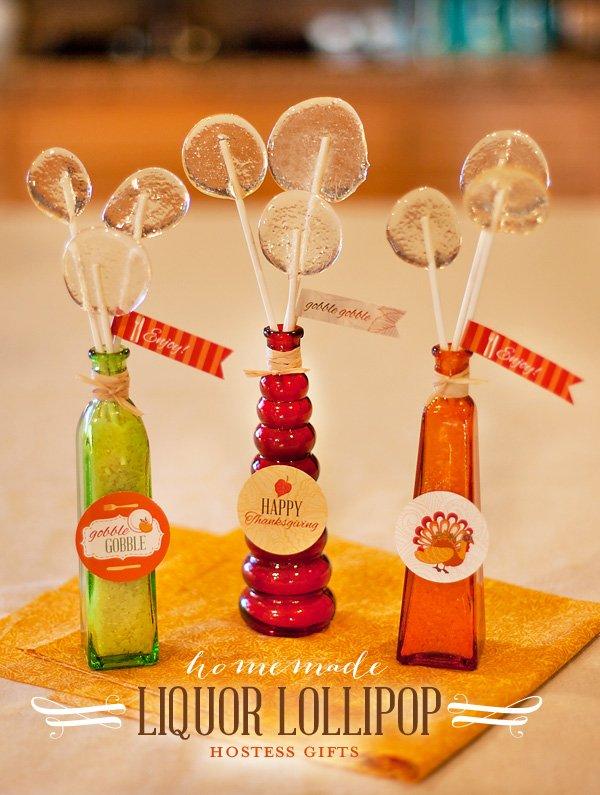 Adult Liquor Lollipops Recipe