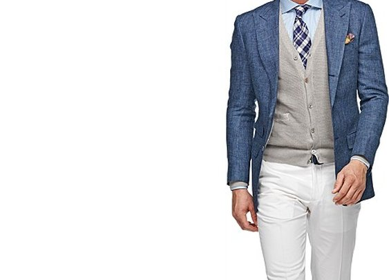 Jacket Blue Plain Washington C559i | Suitsupply Online Store