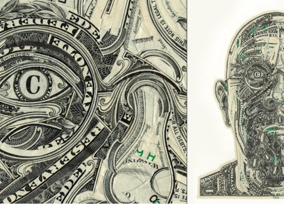 Currency Collages by Artist Mark Wagner | Cool Material