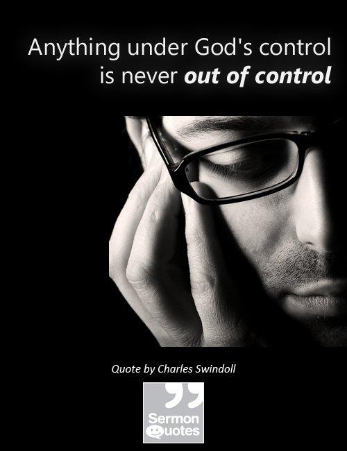 Got Control Issues?