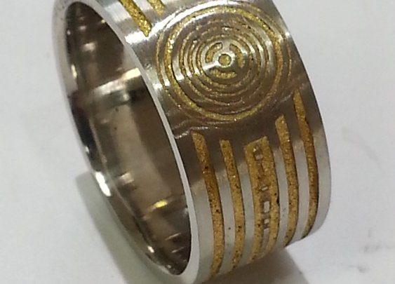 Custom Made C3P0 Band by Paul Michael Design